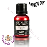 RAINBOW DUST farbka - czerwona RED